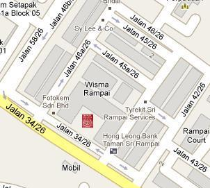 Wangsa Maju Immigration Office Location Map
